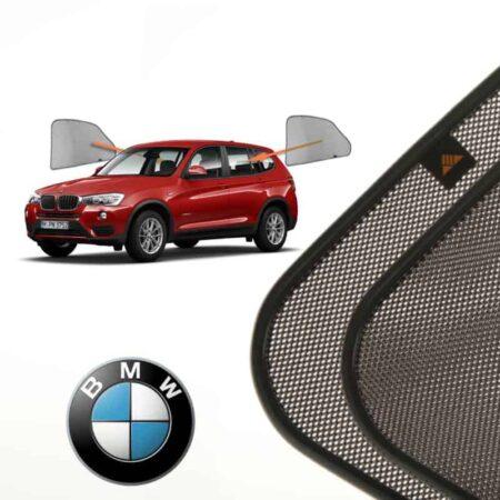 Cortinillas Parasoles Laterales Traseras para BMW X3 (2) (F25) (2010-2017) SUV 5 puertas