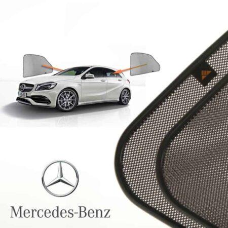 Cortinillas Parasoles Laterales Traseras para Mercedes-Benz A-klasse (3) (W176) (2012-2018) Hatchback 5 puertas