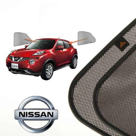 Cortinillas Parasoles Laterales Traseras para Nissan Juke (1) (2010-presente) SUV 5 puertas