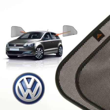 Cortinillas Parasoles Laterales Traseras para Volkswagen Polo (5) (2009-presente) Hatchback 5 puertas