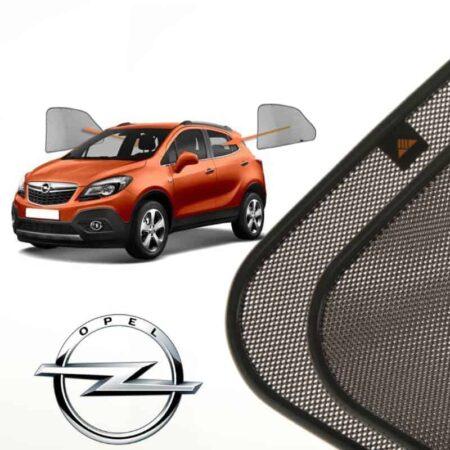 Cortinillas Parasoles Laterales Traseras para Opel Mokka (1) (2012-presente) SUV 5 puertas