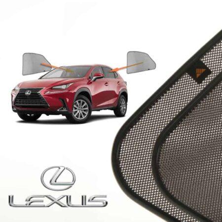 Cortinillas Parasoles Laterales Traseras para Lexus NX (1) (2014-presente) SUV 5 puertas