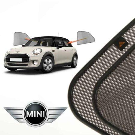 Cortinillas Parasoles Laterales Traseras para Mini Hatch (3) (2013- presente) Hatchback 5 puertas