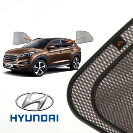 Cortinillas Parasoles Laterales Traseras para Hyundai Tucson (3) (2015-presente) SUV 5 puertas