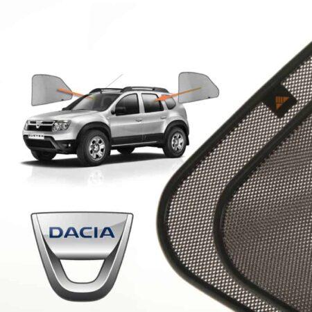 Cortinillas Parasoles Laterales Traseras para Dacia Duster (1) (2010-2017) SUV 5 puertas