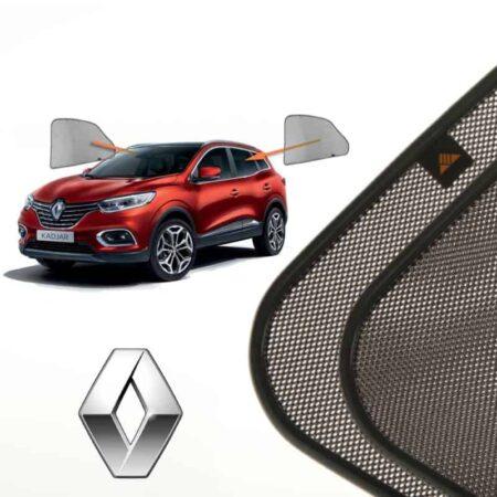 Cortinillas Parasoles Laterales Traseras para Renault Kadjar (1) (2015-presente) SUV 5 puertas