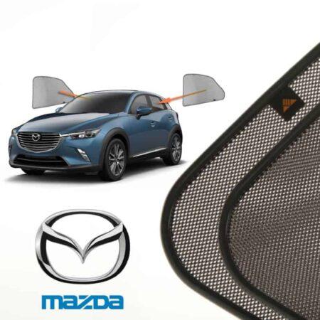Cortinillas Parasoles Laterales Traseras para Mazda CX-3 (1) (2015-presente) SUV 5 puertas