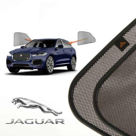 Cortinillas Parasoles Laterales Traseras para Jaguar F-Pace (1) (2016-presente) SUV 5 puertas