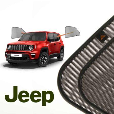 Cortinillas Parasoles Laterales Traseras para Jeep Renegade (1) (2014-presente) SUV 5 puertas